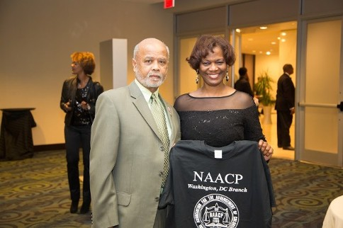 Prince Hall - most worshipful grand master Norman C. Campbel and Georginna Thomas