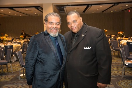 Dr. Mark Thompson & UDC Trustee Barrington D. Scott