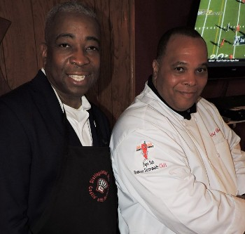 Chef David & Chef Barrington Trade Cooking Secrets