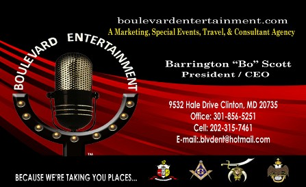Business Card, Event Planning Company in Clinton, MD