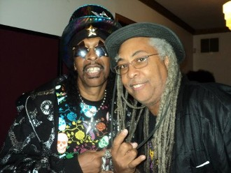 Bootsy Collins and Daniel Lewis