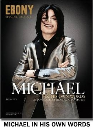 Ebony Magazine Limited Collector's Book & THE KING of POP Michael Jackson